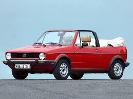Volkswagen (VW) Golf I Cabriolet,